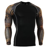 Wholesale hunting t shirt base layer men brand thanks giving day printing shirts long sleeve sports clothing sublimation cloth