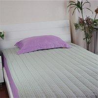 air yarn - Muji high quality bubble yarn cotton mattress air conditioning bed sheets soft