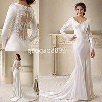 bella swan dresses - Movie Star In Breaking Dawn Bella Swan Long Sleeve Lace Wedding Dress Bridal Gown amazing detail on back sheath wedding gown