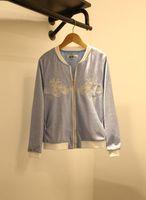 baseball collectibles - Korean Collectibles Autumn new Korean wild fashion baseball jacket embroidered clothes zipper jacket