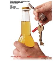 Wholesale 2015 SUCK UK Key Bottle Opener wine openers Wedding supplies Bar Accessiories Tools with Gift Box free DHL