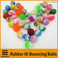 Wholesale Diameter mm rubber Hi Bouncing balls bouncy ball bounce ball picture bouncing ball for kids Decompression Toys Amusement Toys