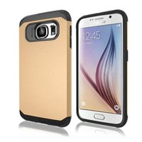 sgp stand - For galaxy S6 Case Slim Tough Armor Case With Stand Holder Shockproof Hard Back Cover SGP gloss paint hybrid combo heavy duty shock Free