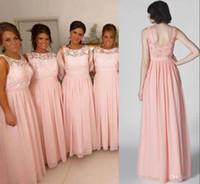 Cheap Blush Bridesmaid Dresses