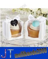 Wholesale NEW DESIGN Single Wedding x9 Cupcake Boxes Wedding Gift Box Favor Box JCO C MYY10007A