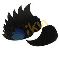 acoustic pickguards - 10pcs Black Acoustic Guitar PickguardS Self adhesive Left Handed Pickguards PVC