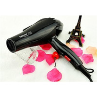 Wholesale Styling Tools Hair Dryer Black Professional Anti radiation Blow Dryer Hot and Cold Wind Nano Titanium M Nozzles Hairdryer Salon Tools