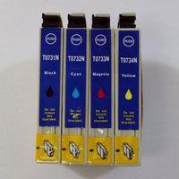 Wholesale for Epson N ink cartridge for TX200 TX400 TX550W TX600FW TX103 TX105 TX110 TX115 printer set