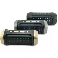 Wholesale Bluetooth Speaker Built in mah Battery with Led Lights Wireless with TF USB Slot FM Aux JY A MP3 Player Mobile Cellphones Computers