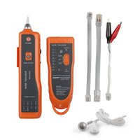 Wholesale RJ11 RJ45 Telephone Wire Tracker Toner Ethernet LAN Network Cable Tester Detector Line Finder Networking Tool