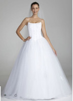 balls free samples - Custom Made SAMPLE Spaghetti Strap Tulle Ball Gown with Corset Style AI10012202 Wedding Dresses