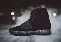Wholesale New Arrival Kanye West Yeezy Boost Men Shoes Boots Ankle Boots With Box Free DHL Shipping