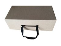 Wholesale cm corrugated board shoe packing box clothes handle box shopping box