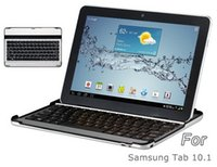 Wholesale HT P2093 Mobile Stand Bluetooth Keyboard for quot Samsung Galaxy Tab Black