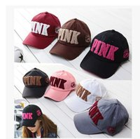 baseball values - In the new leisure sports fashion value D stereo embroidery PINK couples men and women winter warm letter baseball cap