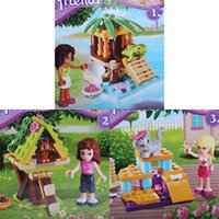 Wholesale Cartoon Girl Friends Sets Minifigure DIY Bricks Building Blocks Toys for kids doll