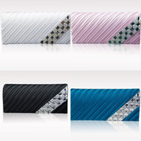 Wholesale 2015 New Women Clutch Bags Evening Clutch Wedding Bridesmaid Bag Evening bags Party Prom box Day cluthes New Fashion Purse MYF53