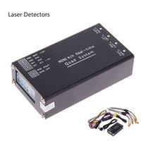 Wholesale Auto Electron Laser Detectors Mini CH Real Time Car Camera Video Split Box With Camera Mirror Control Black E300145C CBY