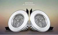 Wholesale Cree LED Downlight Ceiling W W W W W W Recessed LED light Downlights Dimmable LED down Lights Lamps Warm White V