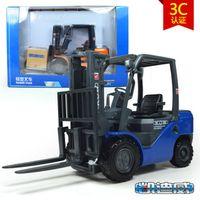 big lift trucks - high quality kaidiwei brand Engineering Vehicle model toy car similar as siku big fork lift truck