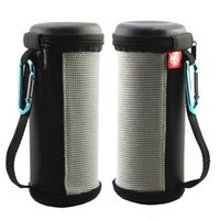Wholesale 1pc Outdoors Portable Travel Zipper Open Case Bag For Carrying Bluetooth Speaker