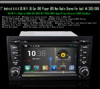 audi a4 navigation - 7 quot Android Touch Screen Car DVD Player Wifi G GPS Navigation Blutooth Radio Stereo For Audi A4