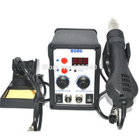 Cheap 8586 700W ESD Soldering Station LED Digital Solder Iron Desoldering Station BGA Rework Solder Station Hot Air Gun Welder order<$18no track