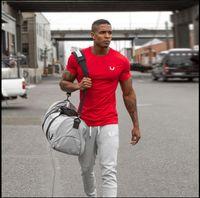 aesthetics bodybuilding - Aesthetic Revolution Gym Crossfit Mens T Shirt Animal Bodybuilding camiseta masculina Short sleeved poleras hombr moda Sport tee