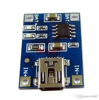 Wholesale TP4056 Charger Module V A Lithium Battery Charging Board Mini USB interface