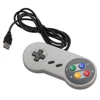 Wholesale Hot sale Newest High Quality Pc Retro Super For Nintendo For SNES USB Controller for PC for Windows for MAC Controllers