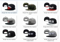 baseball party cups - Classic letter Booger Kids party cup skwiggly chiefn gmas hoodlum Snapbacks black Men s baseball caps street hiphop hip hop cotton hat