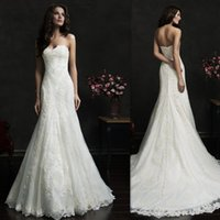 affordable destination wedding gowns - Wrap Wedding Dresses Sweetheart Ivory Lace Covered Buttons Trumpet Custom Made Affordable Bridal Gowns Destination Bride Dress
