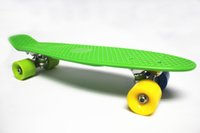 "Cheap Free Shipping 22"" Penny Nickel Skateboard Cruiser Stereo Vinyl Penny Style Plastic Skateboards"