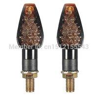 Wholesale 2x Universal Motorcycle Turn Signal LED Indicator Blinker For Honda Aprilia