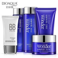 Wholesale Blueberries miracle cosmetic sets sets Moisturizing oil control shrink pores factory outlets face care skin care