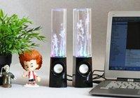 Cheap Mini USB LED Light Dancing Speaker Best 3.5mm Audio Cable dancing speaker