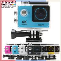 Precio de Camera underwater-cámara de la acción H9 Ultra HD 4K WiFi 1080P / 60fps 2.0 LCD 170D lente de la leva del casco ir bajo el agua cámara resistente al agua SJ4000 Pro Style