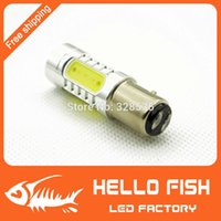 Wholesale 2pcs Modification led brake lights P21W LED1157 W pairs of contacts Lens Buid In Car Light
