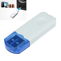 Wholesale High Quality USB Wireless Handsfree Bluetooth Audio Music Receiver Adapter for iPhone Mp4