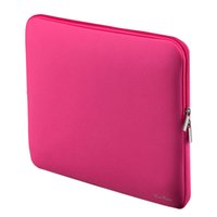 Wholesale Portable Laptop Bag Zipper Soft Sleeve Design Laptop Case for inch quot Ultrabook Laptop Notebook Colors for Choosing C2202