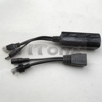 Wholesale 100 M POE Combiner Separator Splitter Adapter Cable Poe Power Supply Module V V VDC For Security Camera