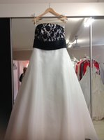 chiffon pageant gowns - Fashion White BLack A line Pageant Dresses with Lace Backless Cheap Long Evening Formal Dress Gown Cheap Long