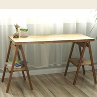 Wholesale Special zakka grocery wood folding table and original design retro photography crafts table A249 NEW