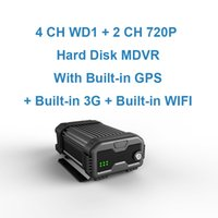 Wholesale 4 Channels Hard Disk Mobile DVR with Built in GPS Built in G Built in WIFI Module Optional