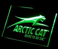 arctic cat logos - ys Arctic Cat Snowmobiles Logo ADV LED Neon Light Sign