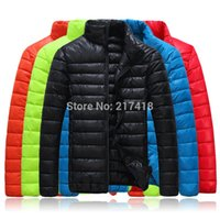 men winter parka - Duck Down Jacket Men Jacket Autumn Men s Parkas New Fashion Winter Cotton Coat Fishing Cost Thickening Plus size More Color Candy ym