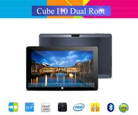 Wholesale New Arrival Cube I10 Dual Boot Tablet PC Inch Intel Z3735F GB RAM GB ROM Windows Android Quad Core IPS x768 Wifi HDMI