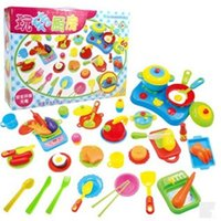 Wholesale 60 Cute Simulation Kitchen Utensils Play Food Toys Small Kitchen toys