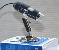 Wholesale 2017New Portable USB MP Digital Microscope Endoscope Magnifier Video Camera High Quality Brand New