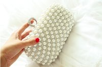 Wholesale 2014 Luxury Crystal Diamond Ring Evening Clutch Bag Purses Women s Wedding Party Prom Bridal HandBags